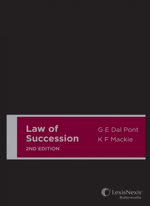 Law of Succession, 2nd edition (Cased)