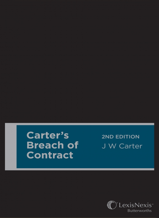 Carter's Breach of Contract, 2nd edition (Hardback)