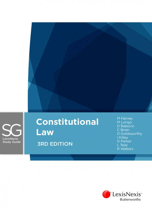 LexisNexis Study Guide: Constitutional Law, 3rd edition