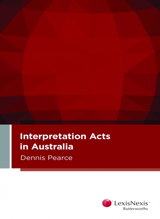 Interpretation Acts in Australia