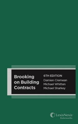Brooking on Building Contracts, 6th edition (Hardback)