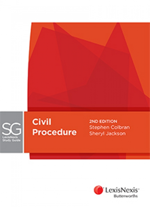 Lexis Nexis Study Guide: Civil Procedure, 2nd edition