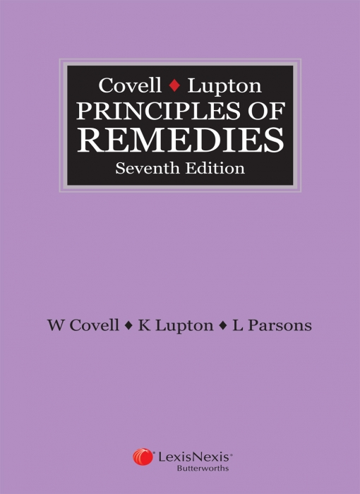 Covell & Lupton Principles of Remedies, 7th edition