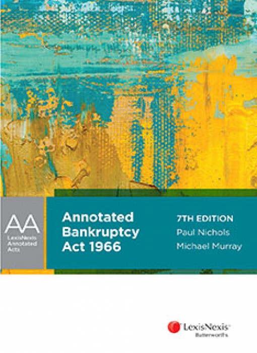 Annotated Bankruptcy Act 1966, 7th Edition
