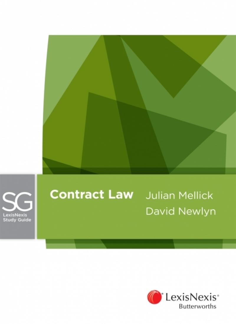 LexisNexis Study Guide: Contract Law, 2nd edition