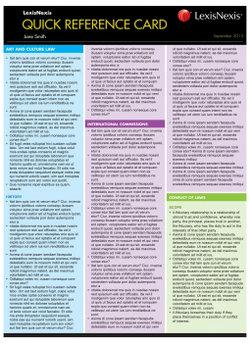Quick Reference Card: Corporations Law — Remedies that Apply when Directors Breach their Duties, 2nd edition
