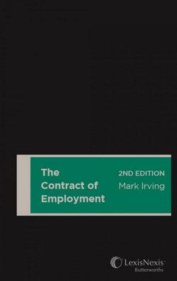 The Contract of Employment, 2nd edition (Hardback)