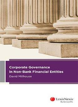 Corporate Governance in Non-Bank Financial Entities
