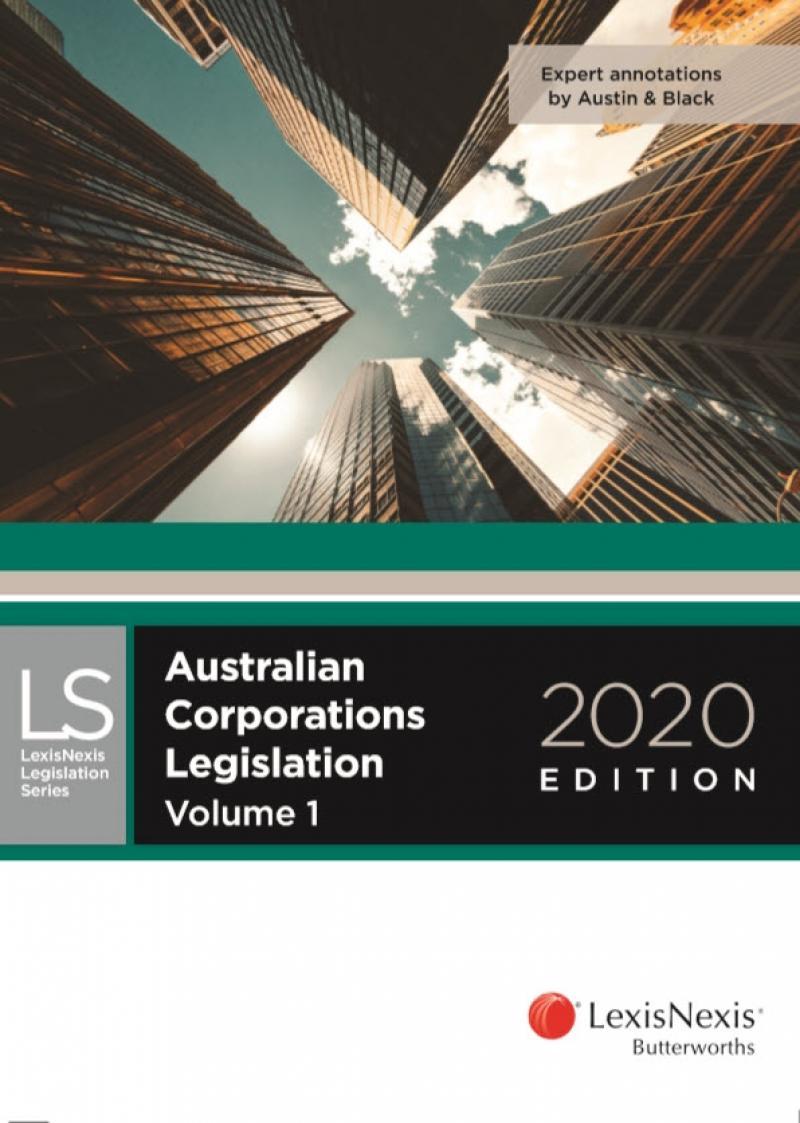 Australian Corporations Legislation 2020
