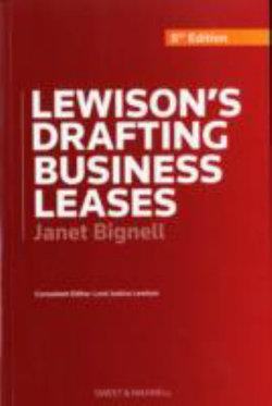 Drafting Business Lease 8 Ed