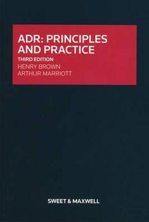 ADR: Principles and Practice 3rd. Ed. SC