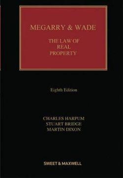 Megarry&Wade:Law of Real Prop. 8e