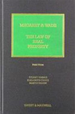 Megarry & Wade: Law of Real Property 9e
