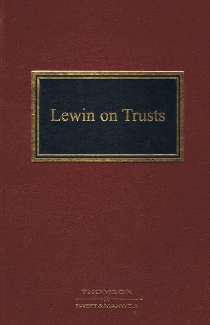 Lewin on Trusts 20e