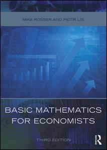 Basic Mathematics for Economists