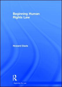 Beginning Human Rights Law
