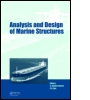Analysis and Design of Marine Structures