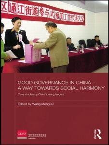 Good Governance in China - A Way Towards Social Harmony