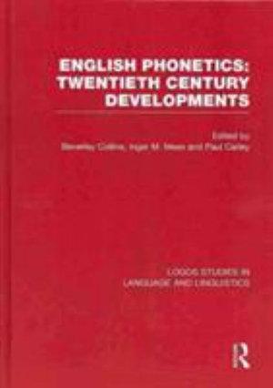 English Phonetics: Twentieth-Century Developments