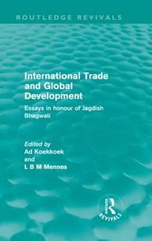 International Trade and Global Development (Routledge Revivals)