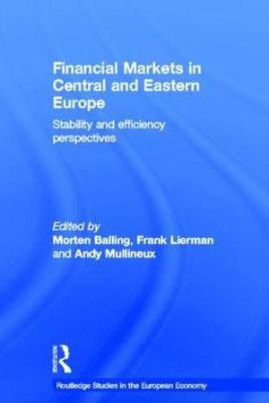 Financial Markets in Central and Eastern Europe