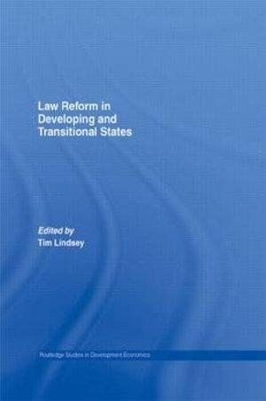 Law Reform in Developing and Transitional States
