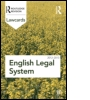 English Legal System Lawcards 2012-2013
