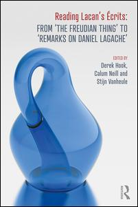 Reading Lacan's Écrits: From 'The Freudian Thing' to 'Remarks on Daniel Lagache'