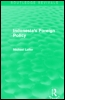 Indonesia's Foreign Policy (Routledge Revivals)