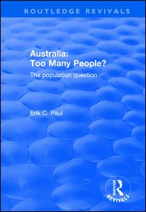Australia: Too Many People?