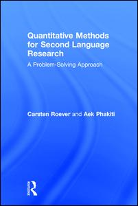 Quantitative Methods for Second Language Research