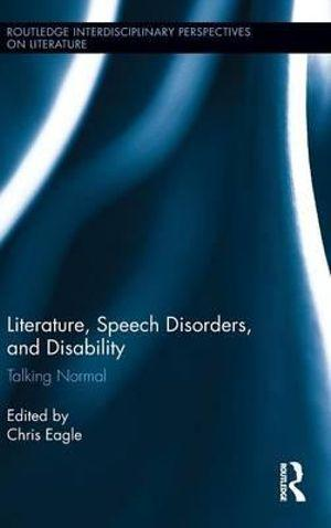 Literature, Speech Disorders, and Disability