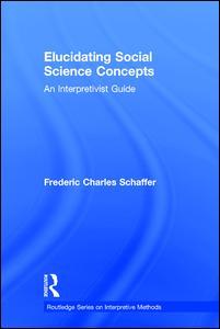 Elucidating Social Science Concepts