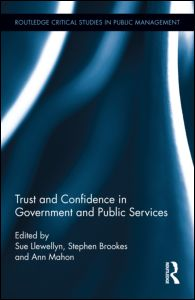 Trust and Confidence in Government and Public Services