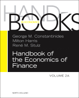 Handbook of the Economics of Finance, Volume 2A