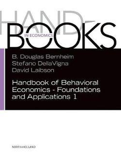 Handbook of Behavioral Economics: Applications