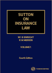 Sutton on Insurance Law 4e V1 & V2