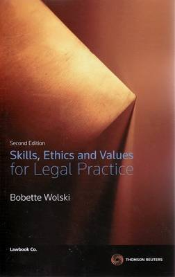 Skills Ethics&Values for Legal Prac 2e