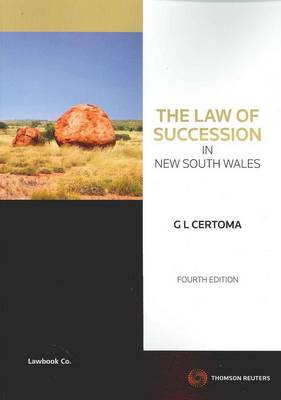 Law of Succession in NSW 4th Ed.