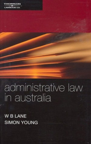 Administrative Law in Australia