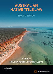 Australian Native Title Law 2e