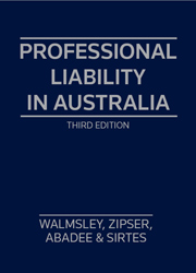 Professional Liability in Aust 3e SC