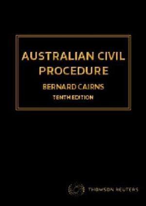 Australian Civil Procedure 10e