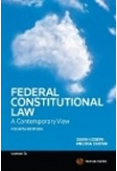 Federal Constitutional Law A Contemporary View 4th Edition