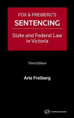 Sentencing: State&Fed Law in Vic 3rd