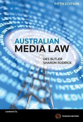 Australian Media Law 5e