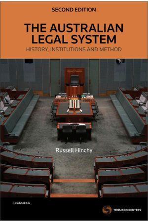 Aust Legal System:History,Instit 2e