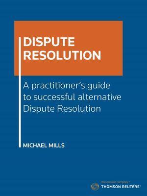 Dispute Resolution 1e