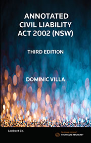 Annotated Civil Liability Act NSW 3e