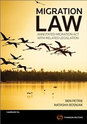 Migration Law Annot - Migrat Act&Rel Leg